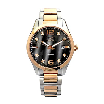 Depro Rix 紳士典藏真鑽機械腕錶DR02097BS-43mm