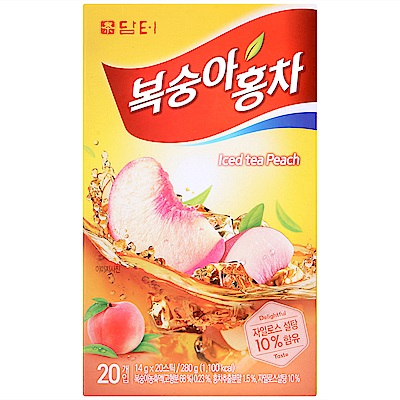 DAMTUH  F 傳統冰紅茶-桃子風味(280g)