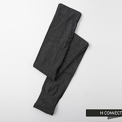 H:CONNECT 韓國品牌 純色彈性踩腳襪-灰(快)