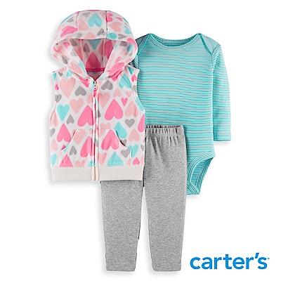 Carter's 繽紛愛心3件組套裝