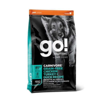 Go! 雞肉鮭魚 85% 高肉量 成犬配方12磅