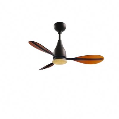 VENTO芬朵 PAGAIA船槳系列 42吋燈扇 仿古色本體 透咖啡葉片 不含安裝