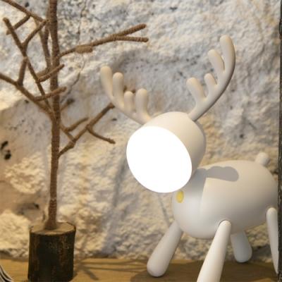 覓鹿伴睡燈 小鹿夜燈 麋鹿造型燈 USB充電