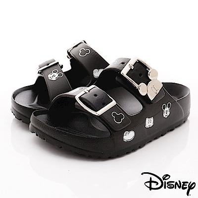 迪士尼童鞋 米奇超輕拖鞋款 ON19375黑(中小童段)
