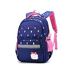 DF 童趣館 - 可愛校園系列防潑水立體大容量雙肩包-共2色