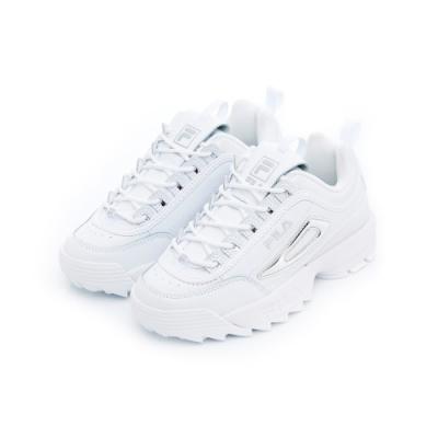 FILA DISRUPTOR 女運動鞋-白色 5-C608T-103