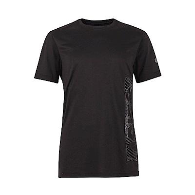 ASICS 男印花短袖T恤 2031A562-001