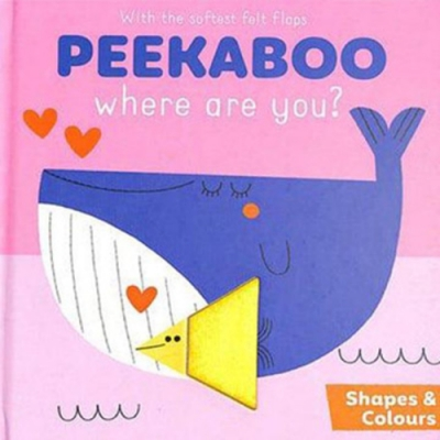 Peekaboo,Where Are You?:Shapes&Colours 躲貓貓翻翻書