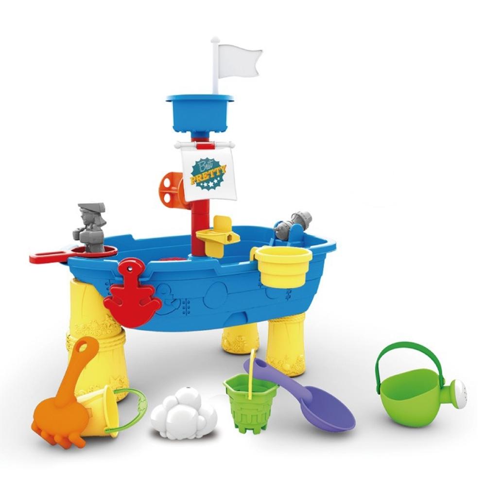 海邊玩沙戲水工具船型組(海盜船造型)