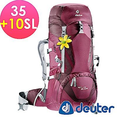 【ATUNAS 歐都納】德國DEUTER輕量化拔熱背包R35+10SL-3340015紫
