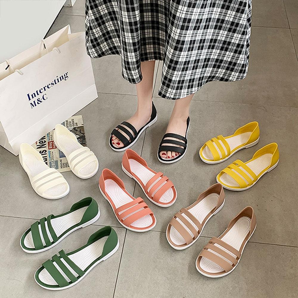 KEITH-WILL時尚鞋館-獨賣輕便生活涼鞋(涼鞋/涼跟鞋)(共3色) (黃色)