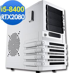 技嘉B360平台[后羿槍神]i5六核RTX2080獨顯電玩機