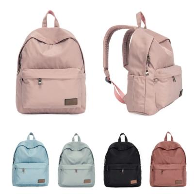J II 後背包-經典水洗大容量後背包-藕粉色-6388-17