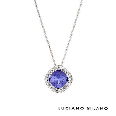 LUCIANO MILANO深紫秘密純銀墜飾