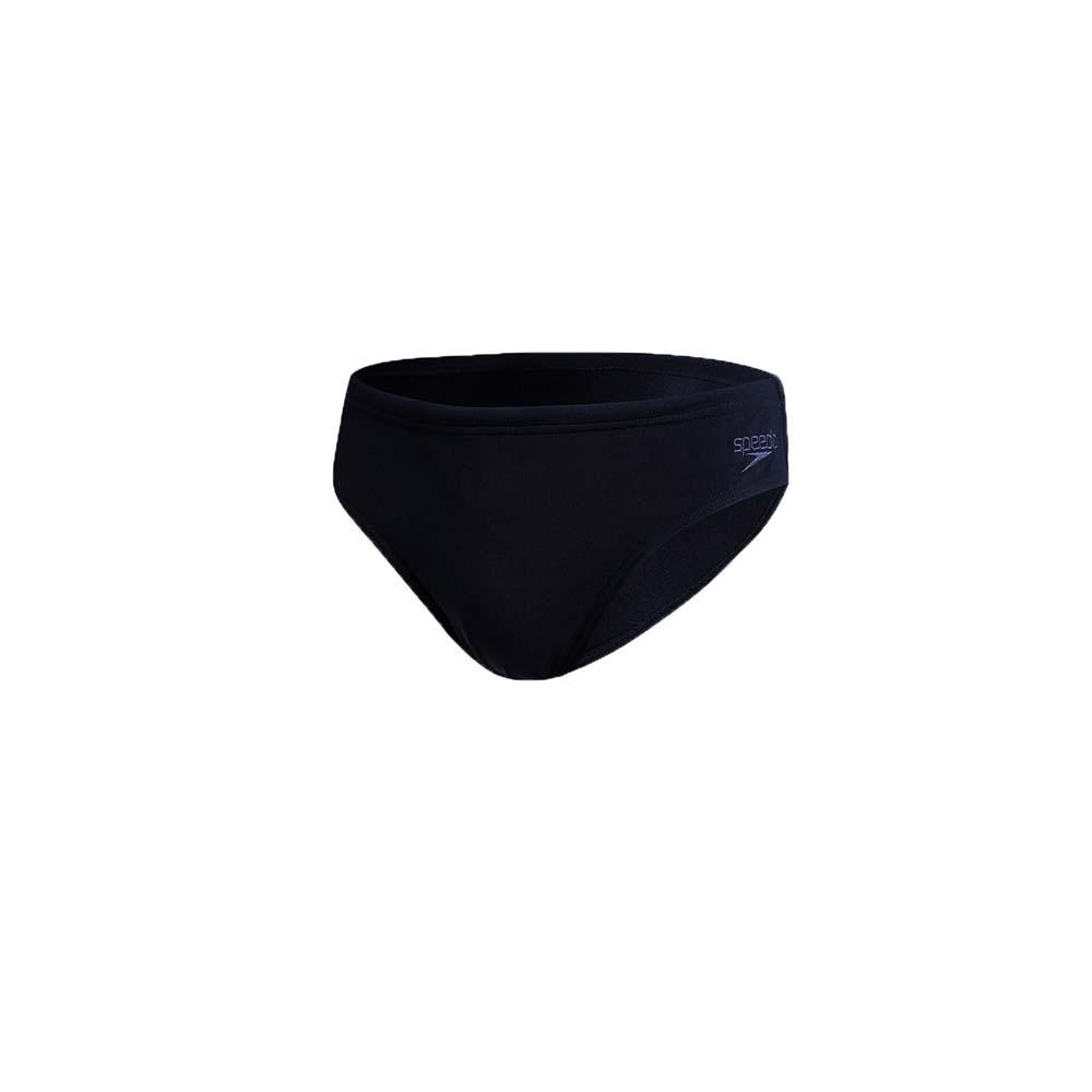 SPEEDO 男運動三角泳褲-泳裝 游泳 戲水 ENDURANCE+ SD812508D740 丈青