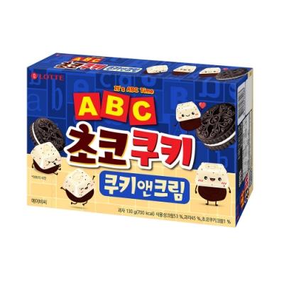 Lotte樂天 字母香草風味可可餅乾(130g)