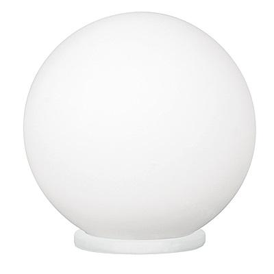 EGLO歐風燈飾 時尚白球形燈罩檯燈/床頭燈(不含燈泡)