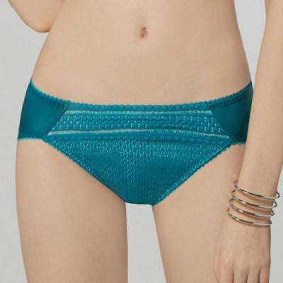 瑪登瑪朵 無限包覆 低腰三角內褲(深海綠)