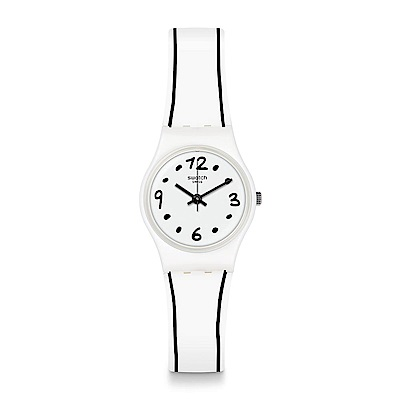 Swatch BLACK BORDER 黑色界線手錶