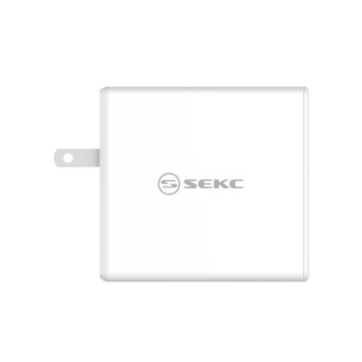 【SEKC】 PD + QC3.0 60W 2孔快速充電器