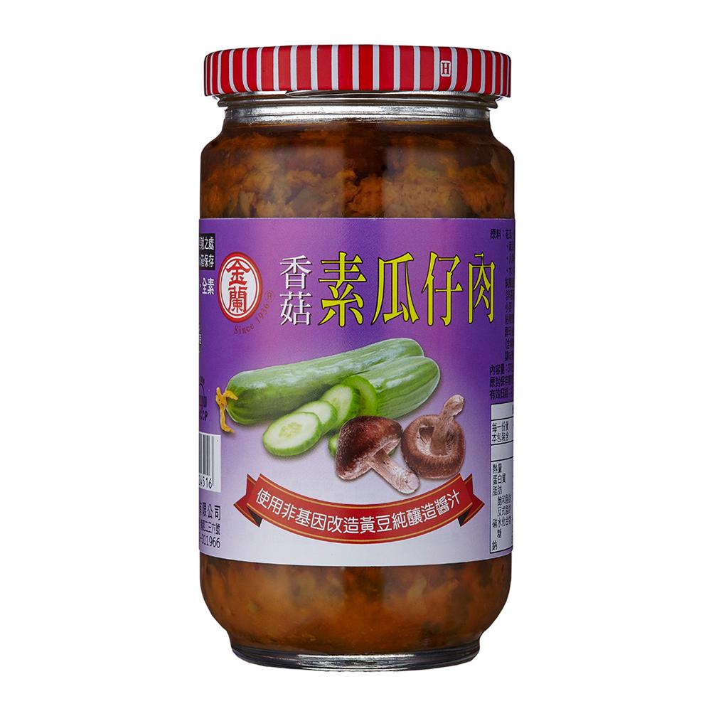金蘭 素瓜仔肉(370g)