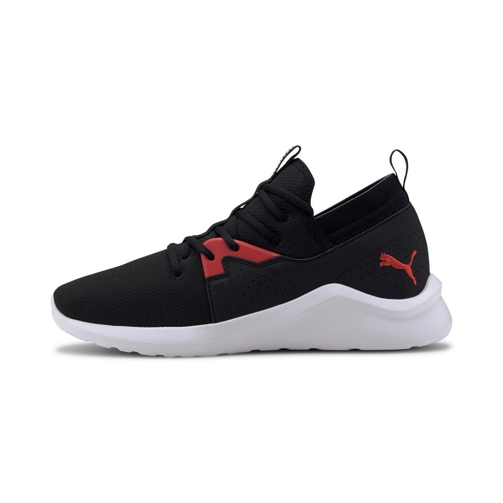 PUMA-Emergence Mesh 男性慢跑運動鞋-黑色