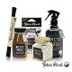 John's Blend 室內香氛擴香膏+擴香瓶+香氛掛片+除臭噴霧(白麝香味-4入組) product thumbnail 1