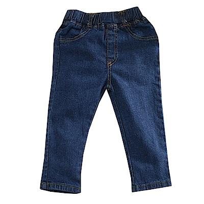 鬆緊帶彈性牛仔長褲 k60679 魔法Baby