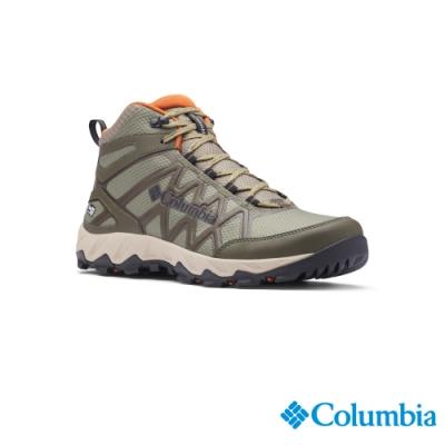 Columbia 哥倫比亞 男款- Outdry 高筒防水健走鞋-軍綠 UBM08280AG