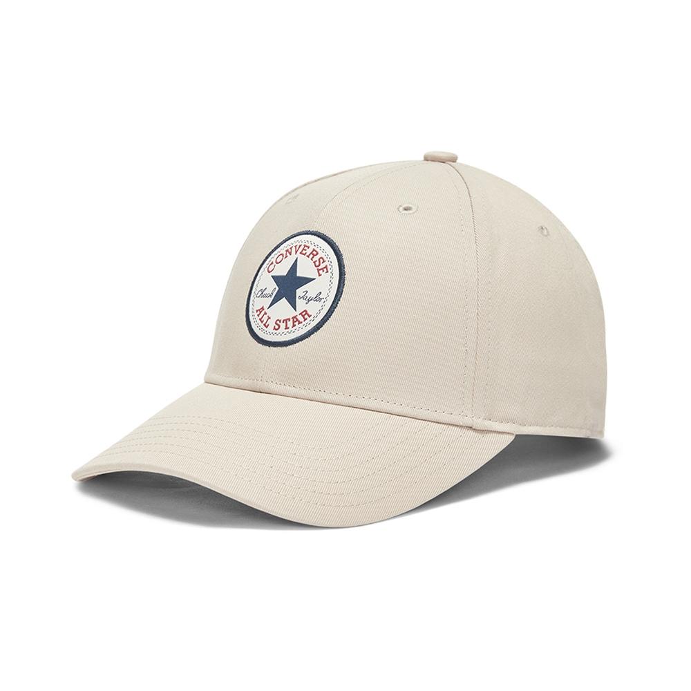 CONVERSE TIPOFF CHUCK PATCH BASEBALL 男女 休閒帽 老帽 米白色 10008476-A35