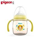 日本《Pigeon貝親》迪士尼PPSU第1階段訓練奶嘴水杯-黃色米奇