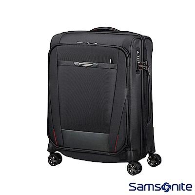 Samsonite新秀麗 Pro-DLX5商務多功能可擴充登機箱(黑)