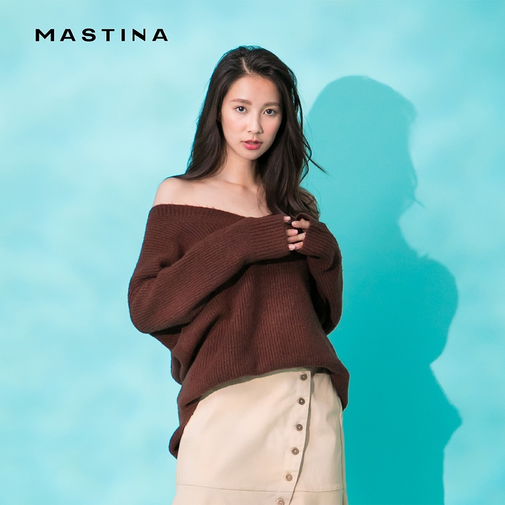 【MASTINA】慵懶舒適搭配-針織衫(四色)