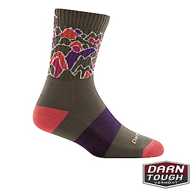 【美國DARN TOUGH】女羊毛襪ZUNI MICRO健行襪(2入隨機)