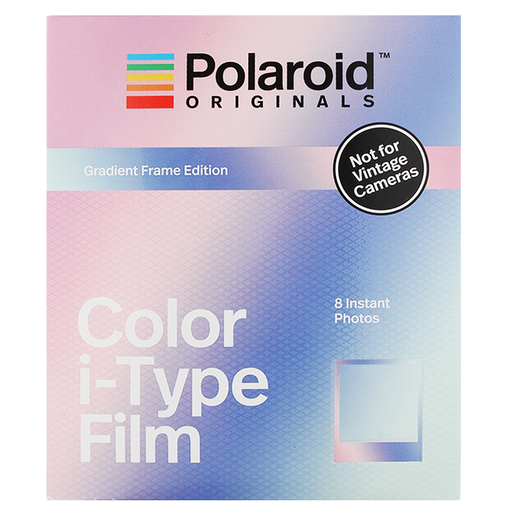 Polaroid Color Film for i-Type 彩色底片(漸層框)/2盒