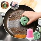 EZlife洗碗刷鍋清潔球6入組(贈掃把除塵刮刀)