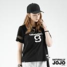 【NATURALLY JOJO】LOGO刺繡棒球帽 (黑)