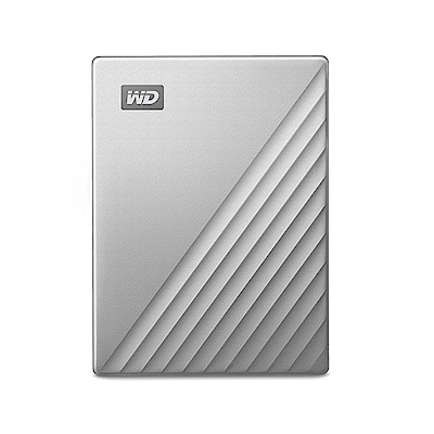 WD My Passport Ultra for Mac 4TB 2.5吋USB-C行動硬