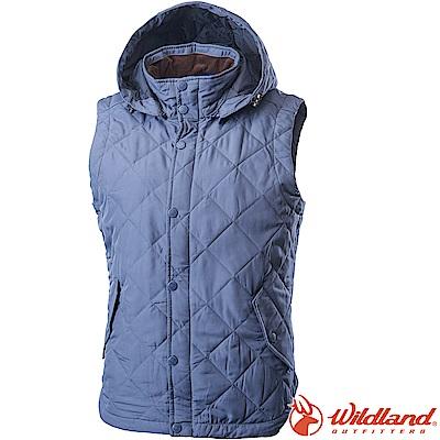Wildland 荒野 0A62791-69灰藍色 中性High soft保暖背心