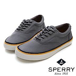 SPERRY 海軍復古舒適輕量帆布鞋(男)-灰
