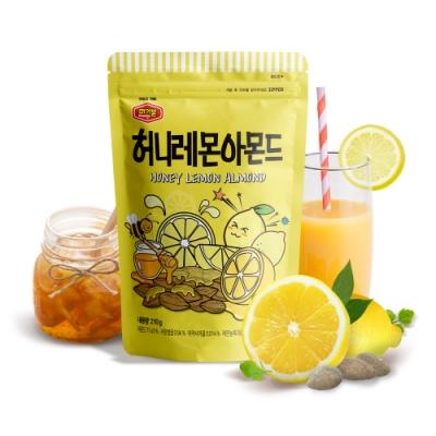 韓國Murgerbon 蜂蜜檸檬風味杏仁果 (210g)