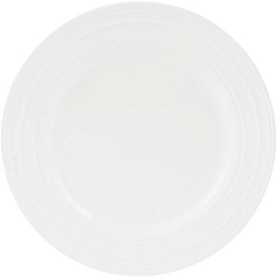 CreativeTops Mikasa漣漪骨瓷淺餐盤(23cm)