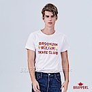 BRAPPERS 男款 日本製溜冰鞋印刷T恤-白