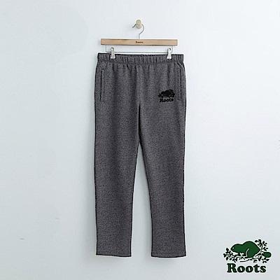 Roots 男裝-休閒棉質長褲-灰色