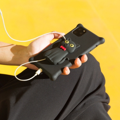 【BONE】IPhone11 Pro -公仔泡泡保護套