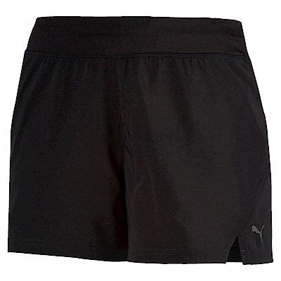 PUMA-女性慢跑系列Blast 4吋短褲-黑色-歐規