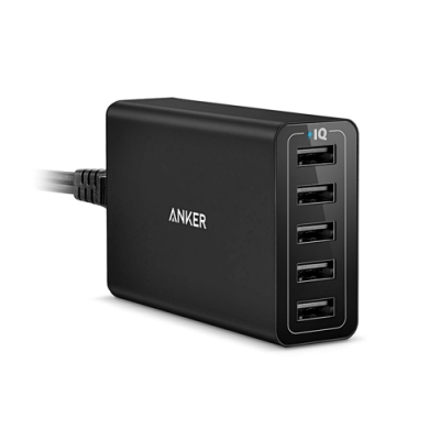Anker充電器40W 5-PORT USB Charger A21245系列