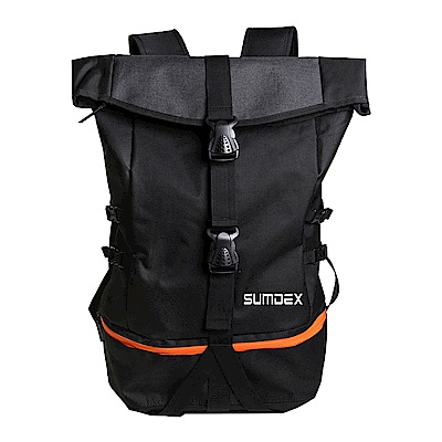 SUMDEX TX1720BK巨無霸運動登山電腦背包15.6吋黑色