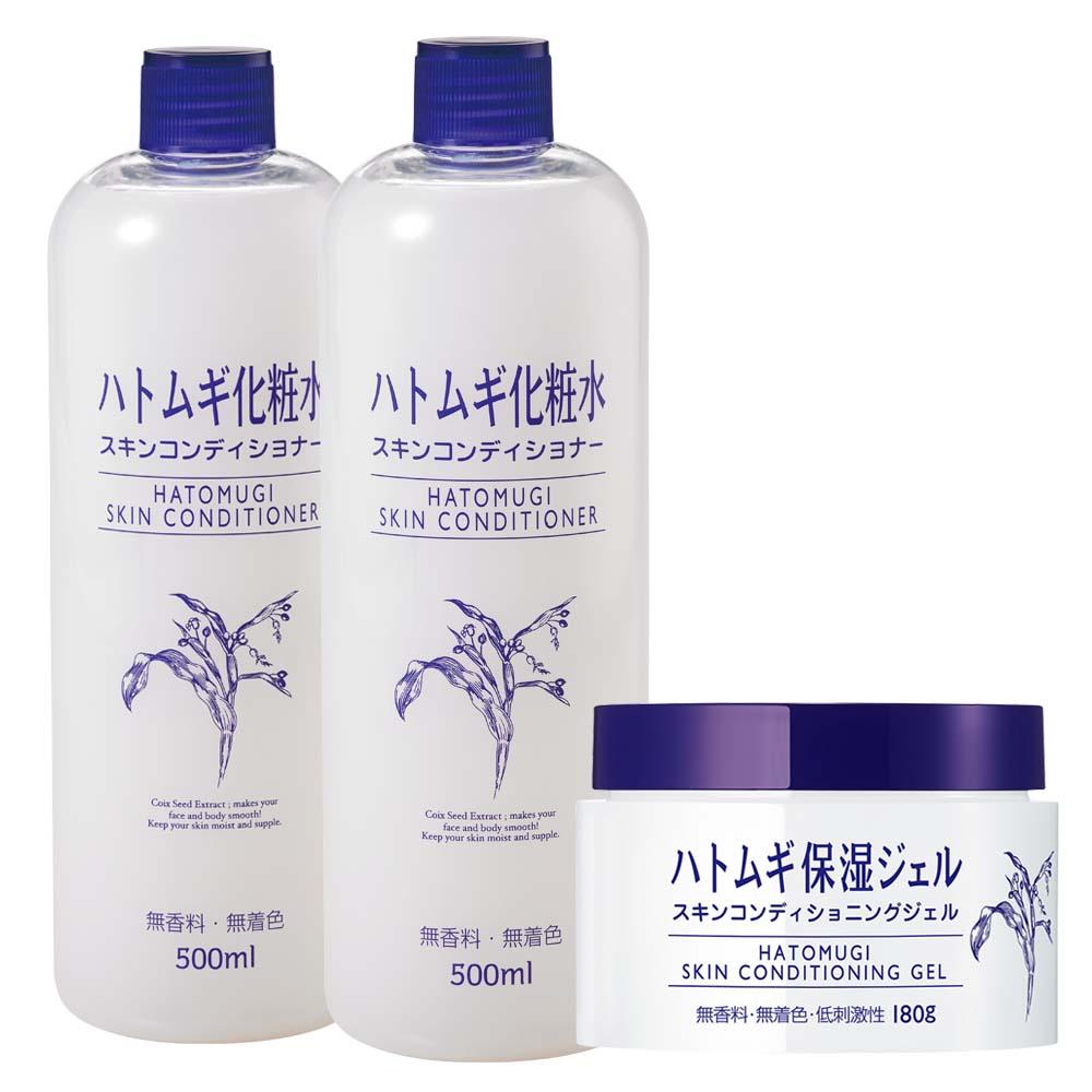 imju薏仁清潤化妝水2入+薏仁清潤保濕凝露1入