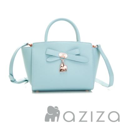 aziza CLORIS 2way蝴蝶包 水藍